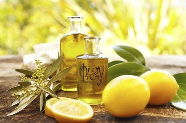 лимон и бутылочки