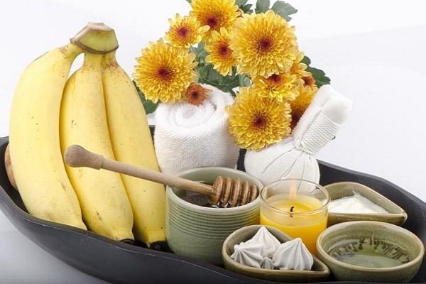банановая spa процедура