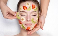 фрукты для маски на лицо