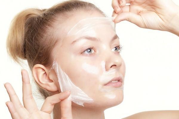маска из желатина на лицо