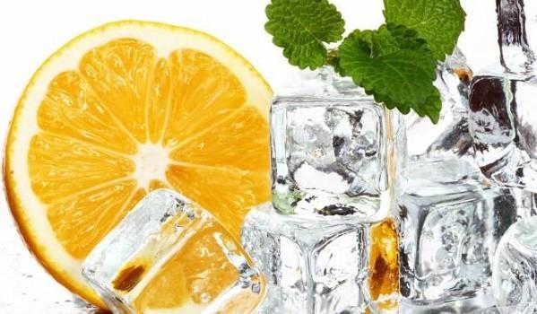 лед из цитрусовых