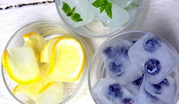 приготовление косметического льда