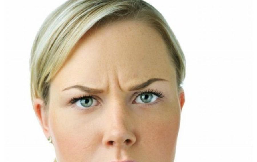 Вертикальные морщины причина мимики