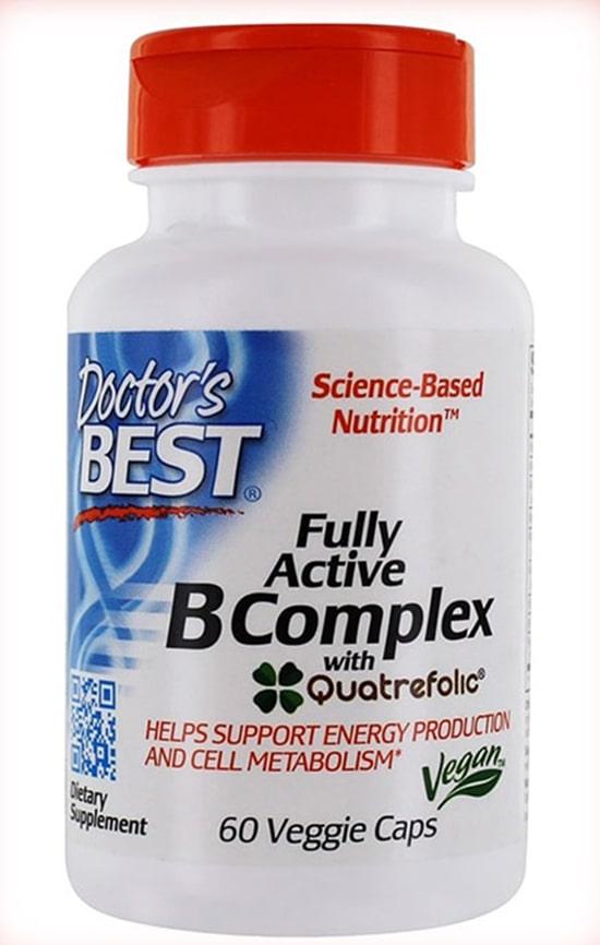 DOCTOR'S BEST витамин группы b подходит для веганов