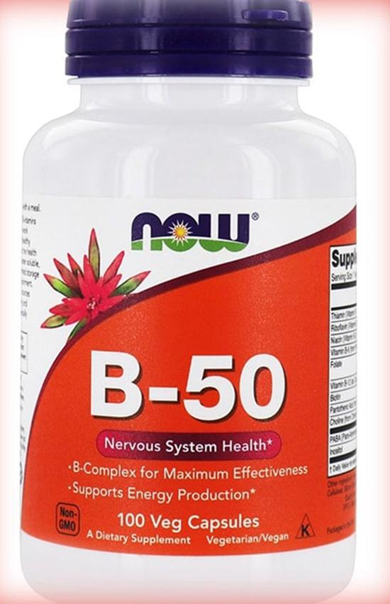 Now foods B-50 витамины группы Б