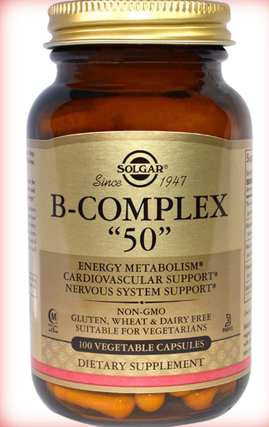 Солгар комплекс витамин Б