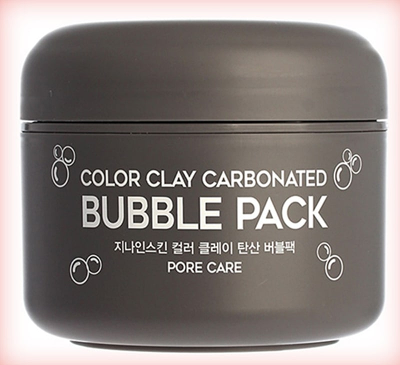 Маска пузырьковая G9skin color clay carbonated bubble pack