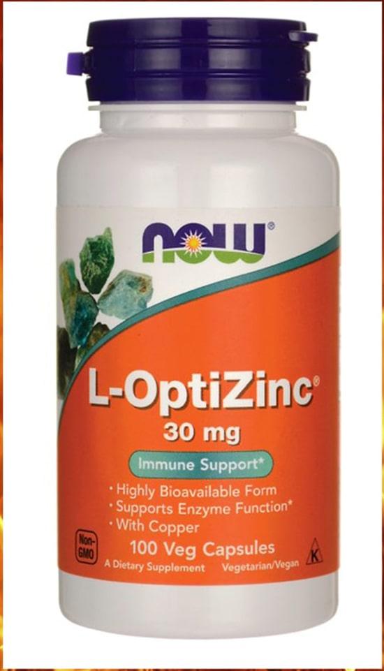 Now foods L-optizinc для укрепления имунитета